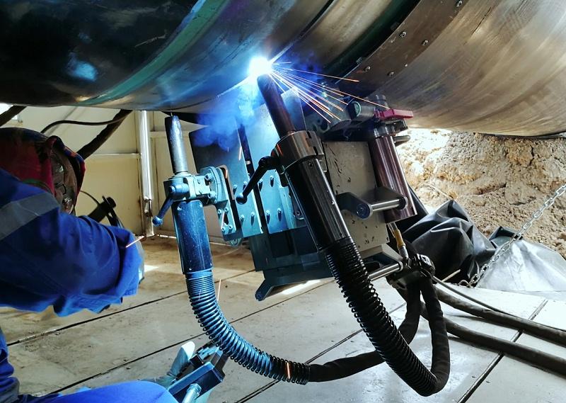 熊谷公司管道焊机