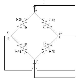 电桥原理图