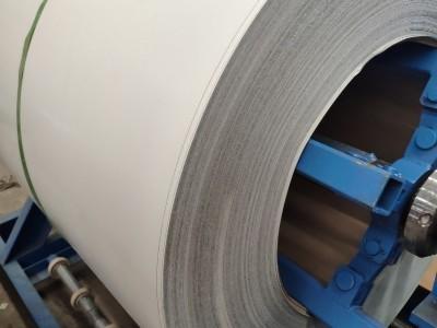 0.47彩涂钢卷多少钱一吨_天物彩板