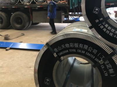 沧州市生产彩涂板企业_河北彩钢卷批发市场_天物彩板