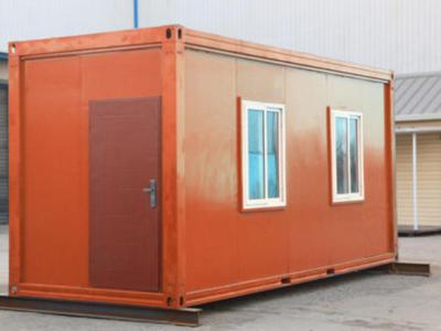 彩钢集装箱房生产厂家_天物静电喷涂彩板