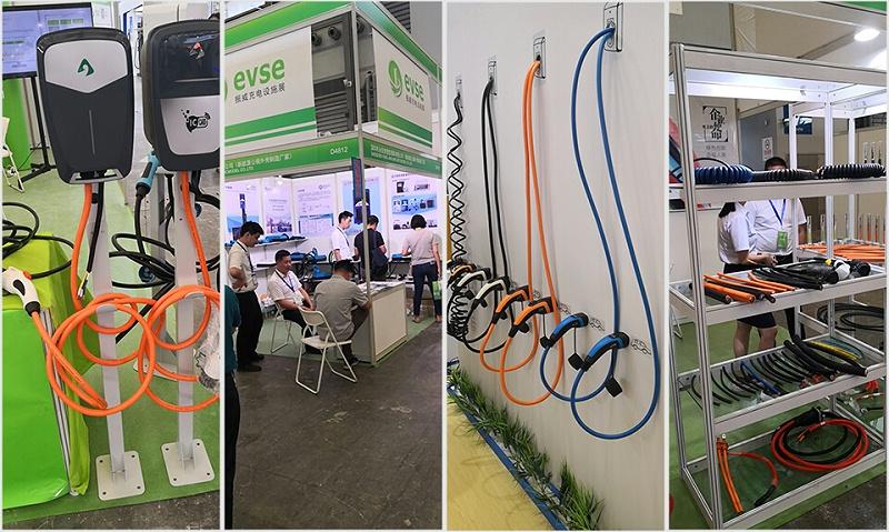参展2019上海新能源汽车-辰安线缆 (1)