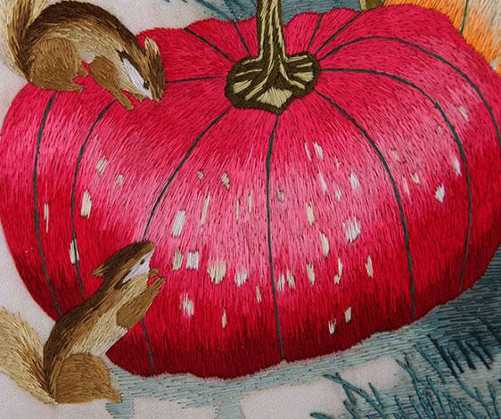 秋实-松鼠南瓜