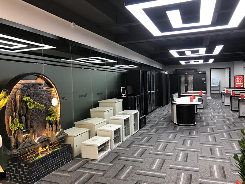 网络机柜公司产品展厅