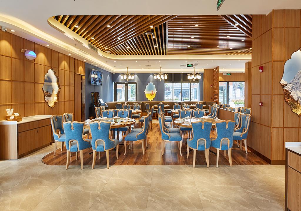 深圳餐厅装修实景图