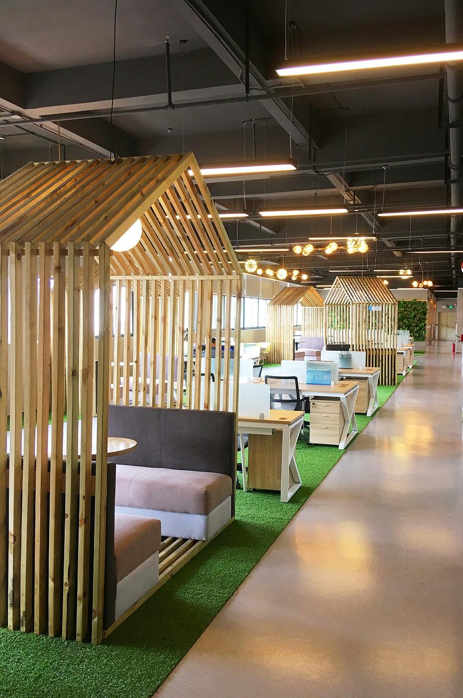 深圳科技办公室装修实景图