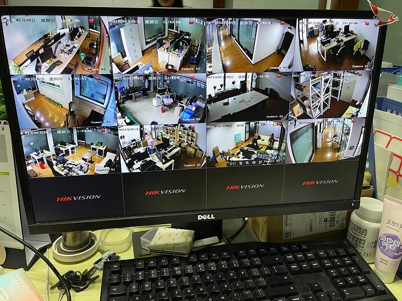 科技公司监控装修