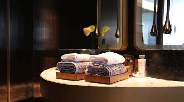 客房毛巾托
