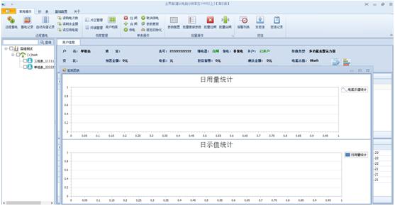 后台软件用电量统计