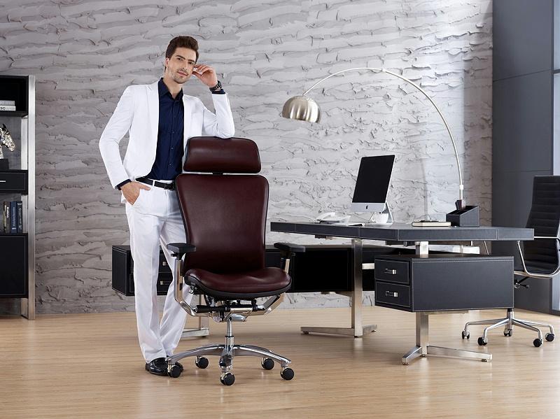 GAVEE人体工学椅皮椅电脑椅