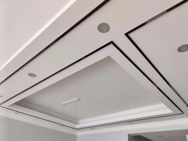 吊顶金属线条安装