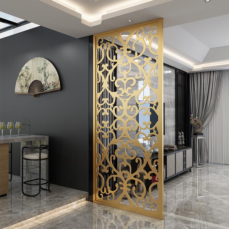 不锈钢屏风装饰工艺,上海凯洋金属