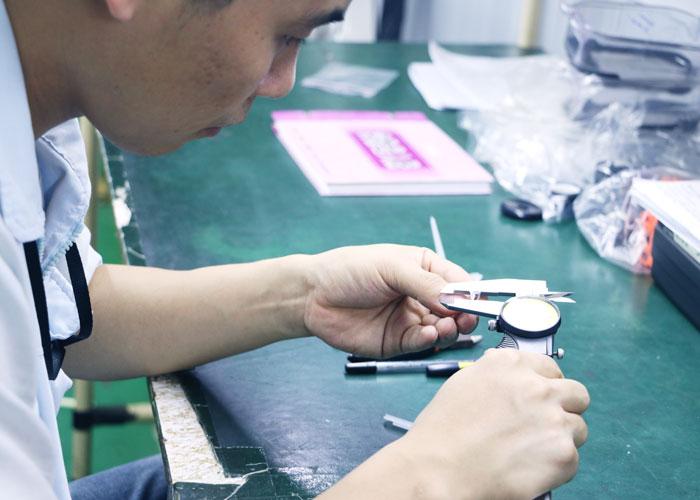 郑于号在产品测量修改
