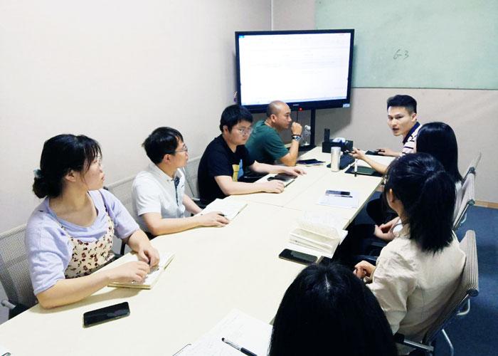 马驰科4月计划会议
