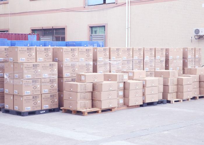 马驰科出货产品装箱