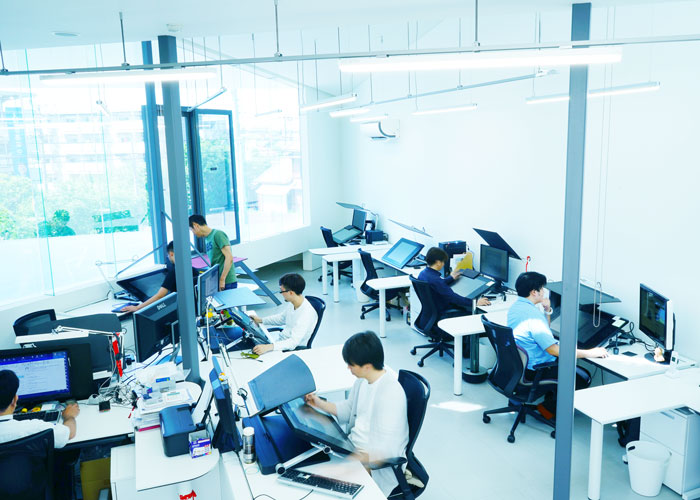 马驰科日本设计团队