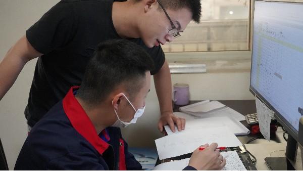 弱电系统设计学习方法——欣荣泰施工现场