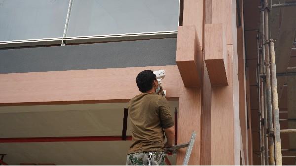 防爆工业监控系统的安装通用要求——欣荣泰工人施工现场