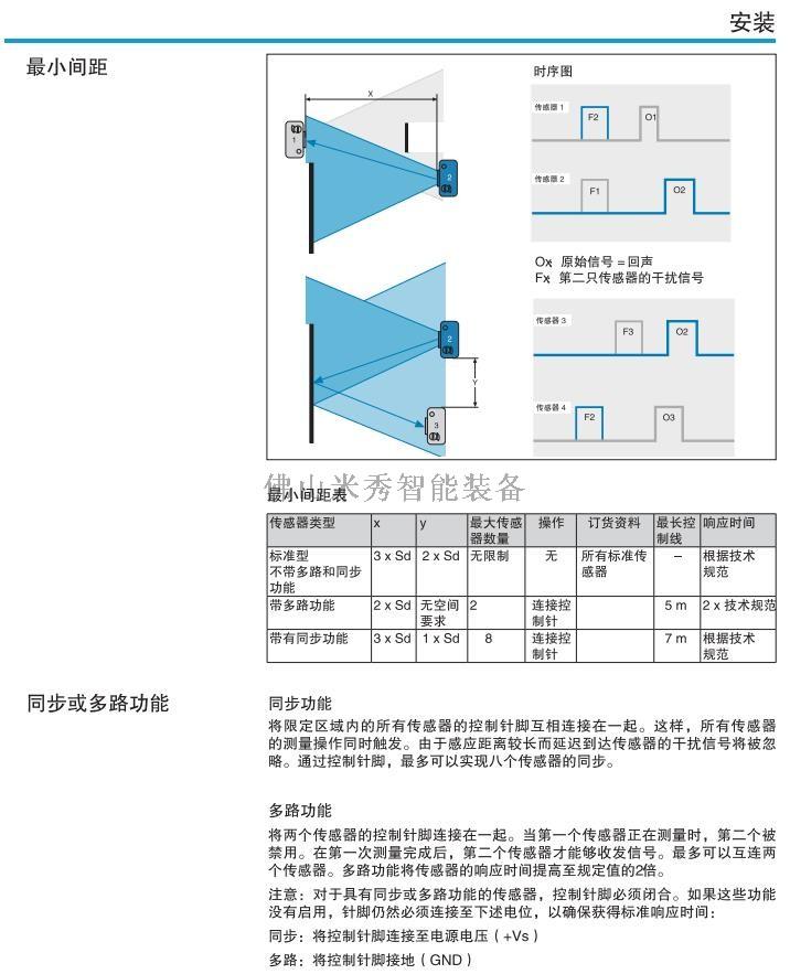 超声波传感器安装方法