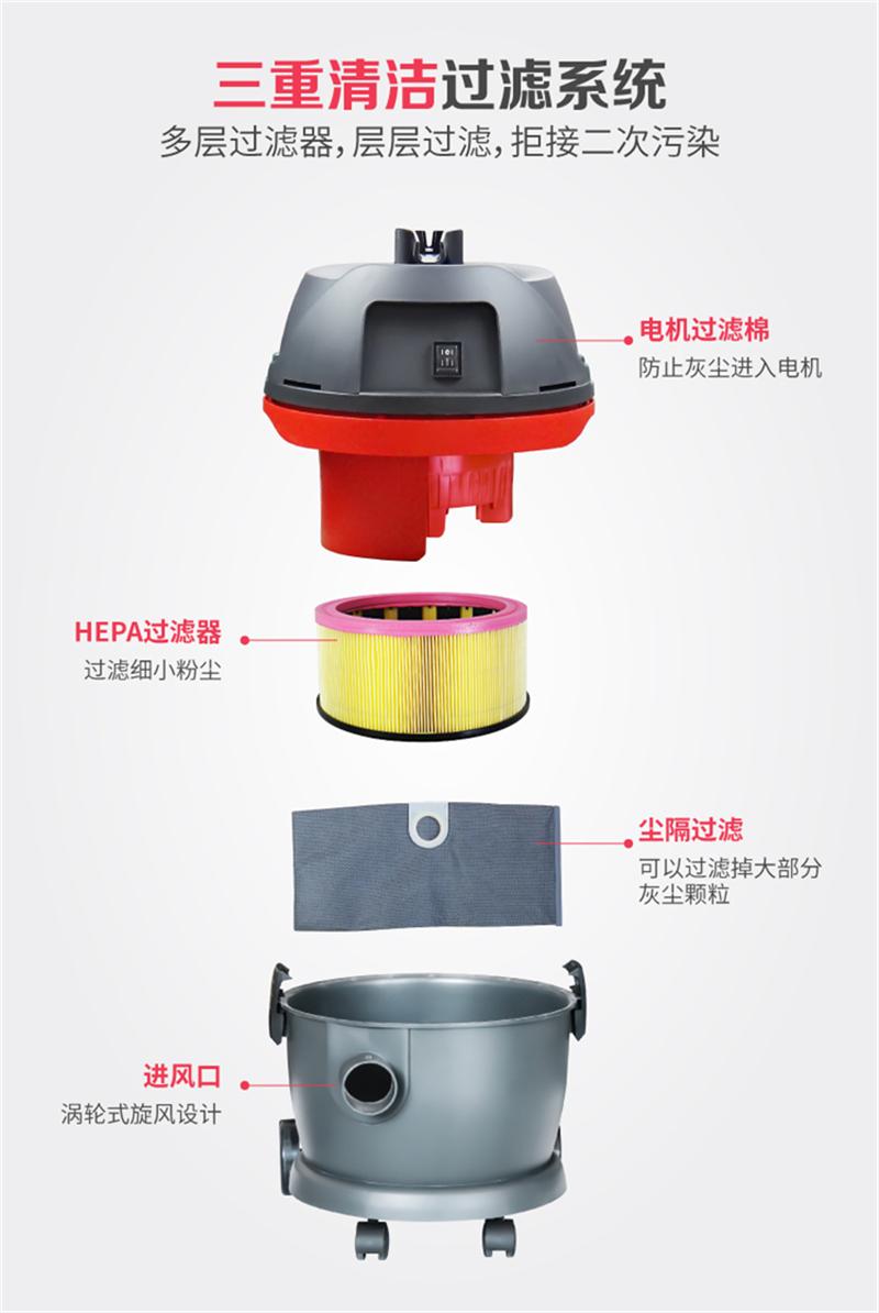 洁威科GS-1245干湿两用吸尘器