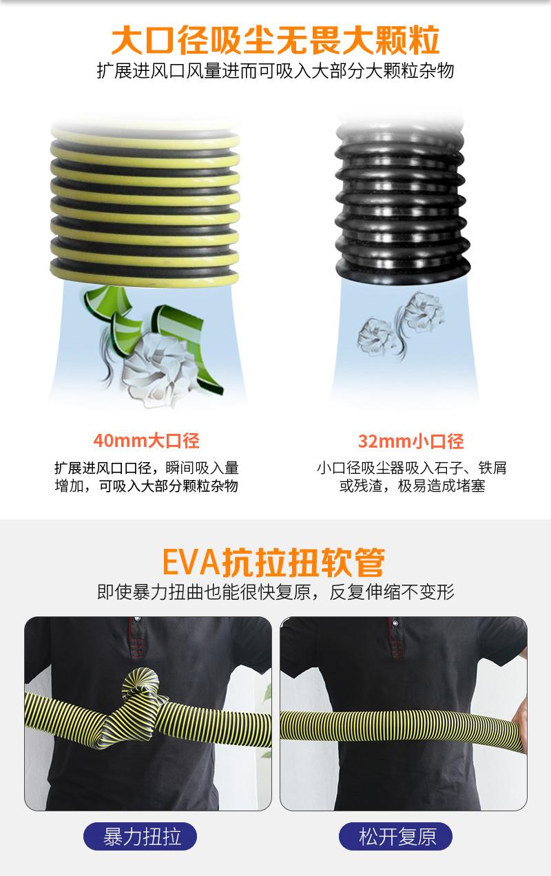 (6)WB-80D无线电瓶工业吸尘器生产厂家