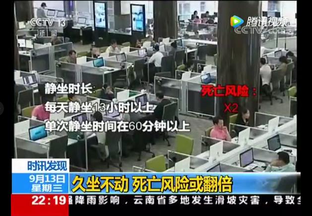 AppleCEO为员工配备升降办公桌,普通人如何预防久坐危害?