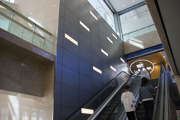昆明南悦城商场铝单板室内外装饰项目