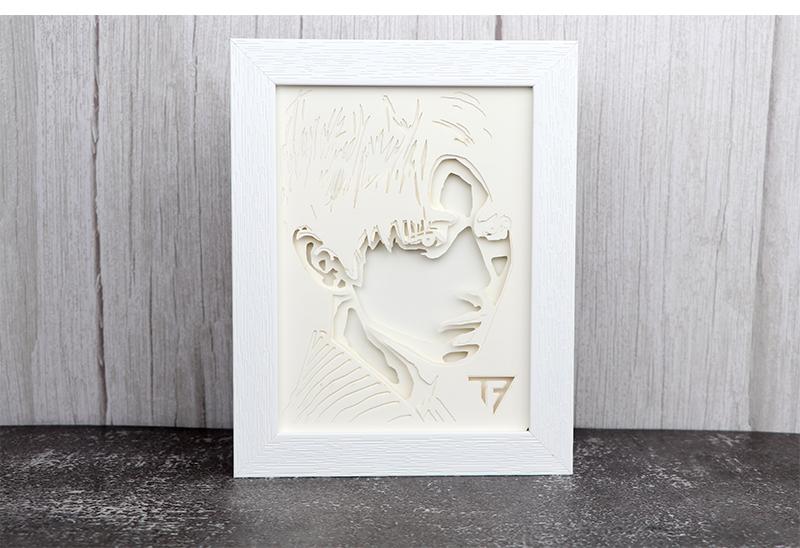 纸雕灯相框